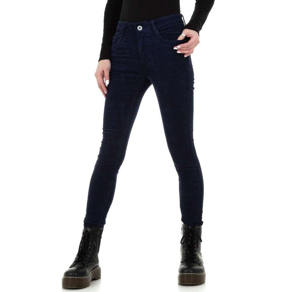 Blugi skinny pentru femei de la Redial Denim Paris - albastru închis - image 1