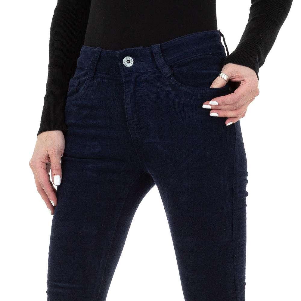 Blugi skinny pentru femei de la Redial Denim Paris - albastru închis - image 4