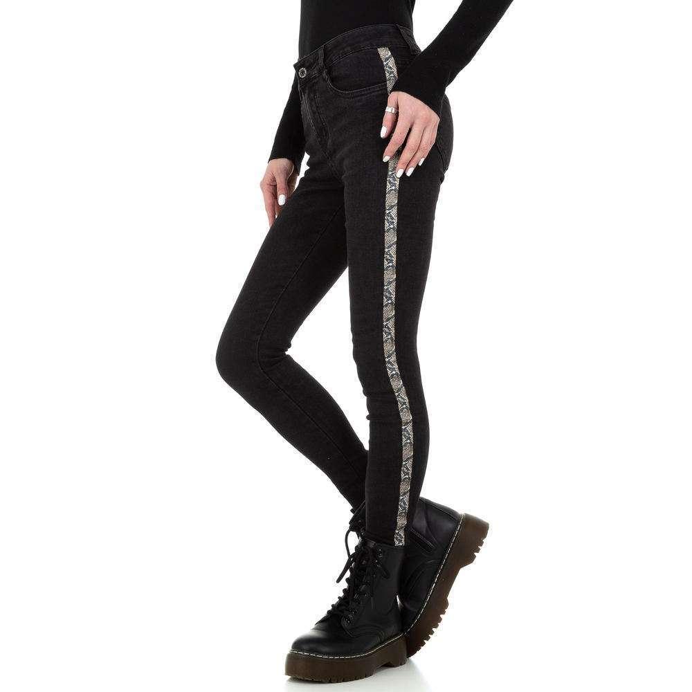 Blugi skinny pentru femei de la Redial Denim Paris - negru - image 2
