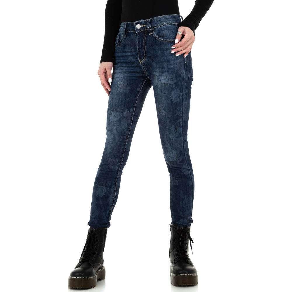 Blugi skinny pentru femei de la Redial Denim Paris - albastru - image 1