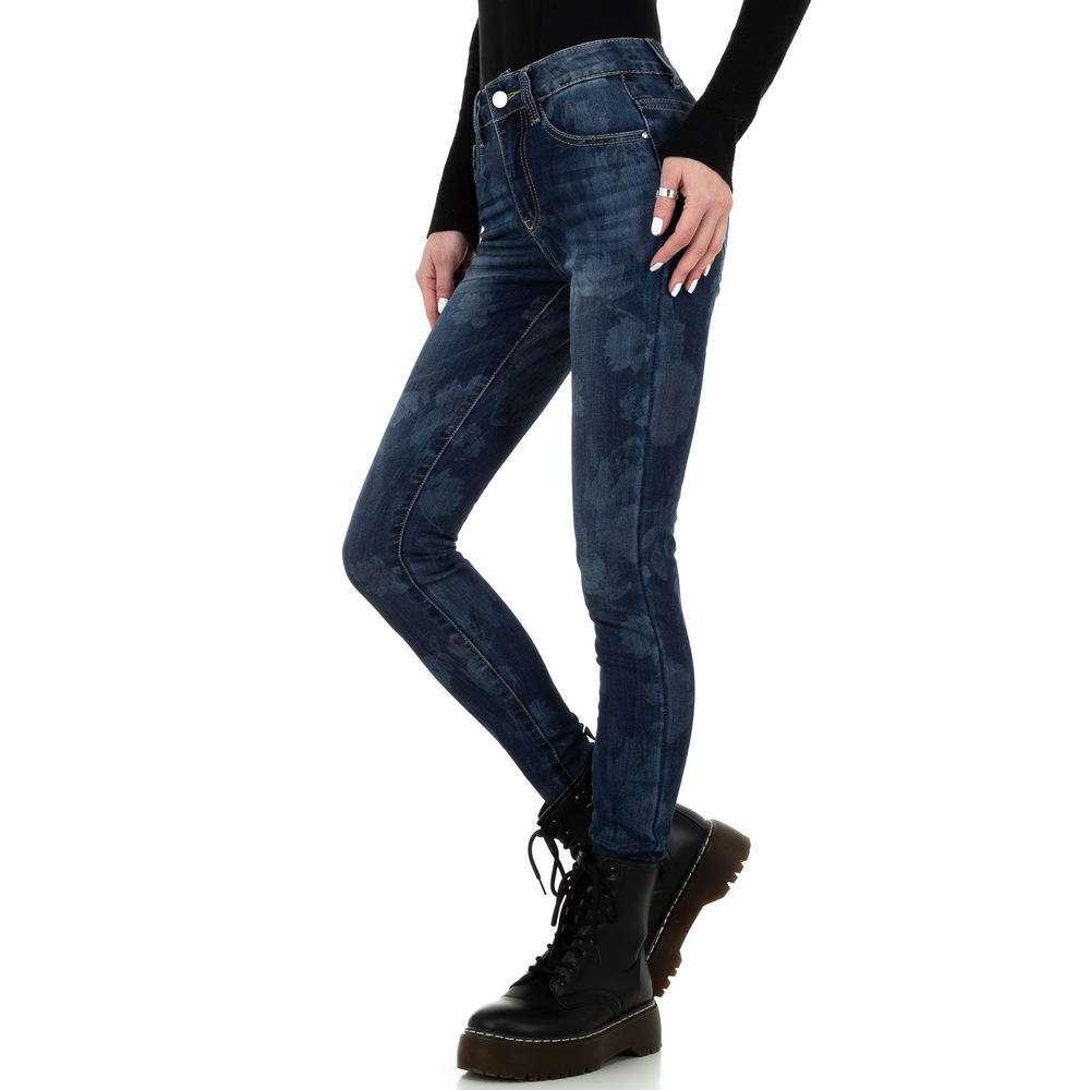 Blugi skinny pentru femei de la Redial Denim Paris - albastru - image 2