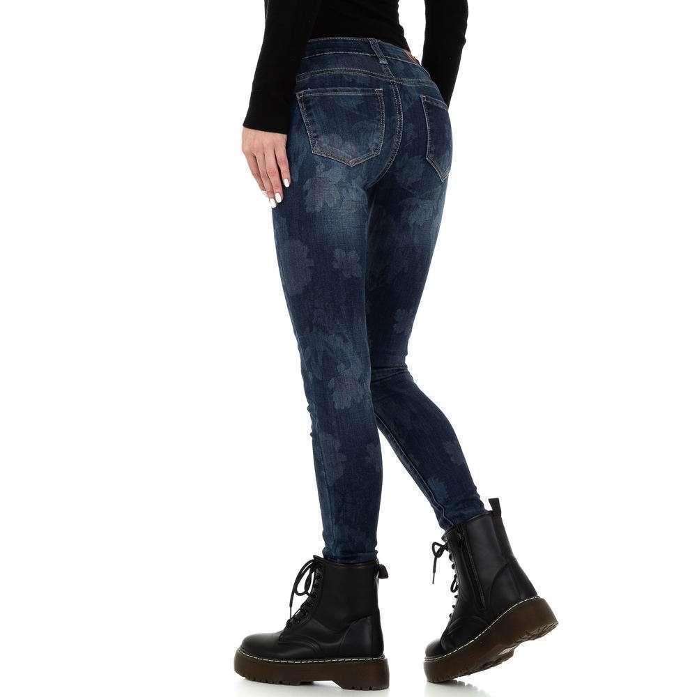 Blugi skinny pentru femei de la Redial Denim Paris - albastru - image 3