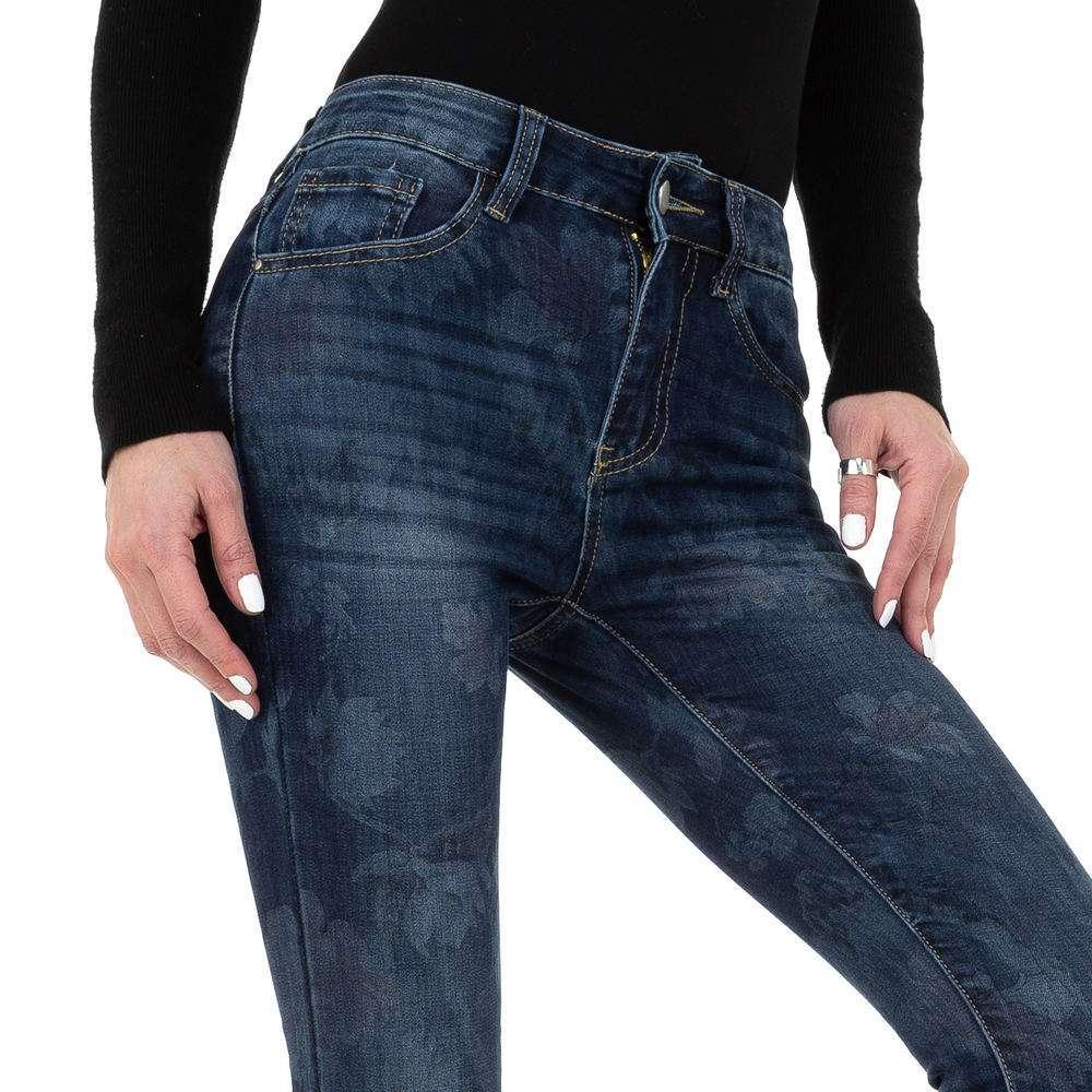 Blugi skinny pentru femei de la Redial Denim Paris - albastru - image 4
