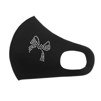 Damen Maske  Gr. One Size - black