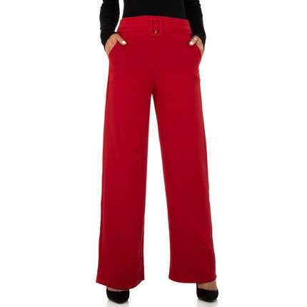 Damen Chinos von Minilady - red