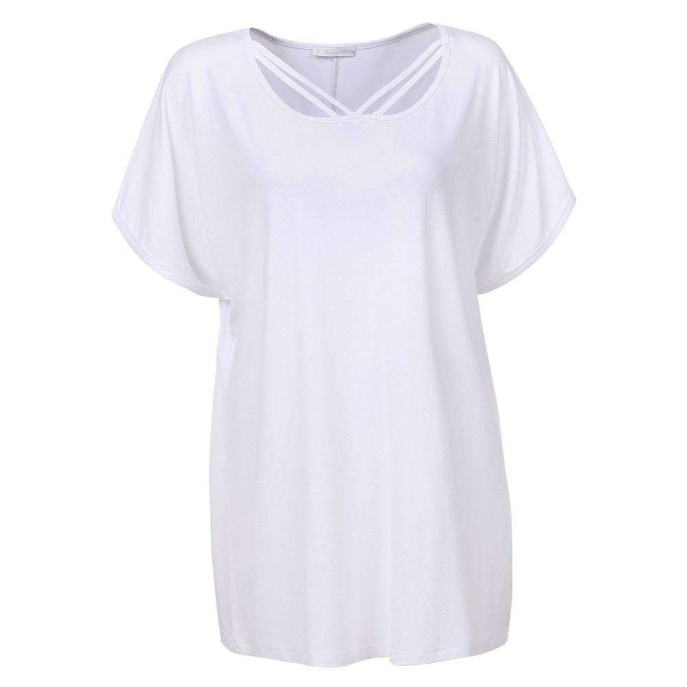 Tunici pentru femei de Glo storye - alb