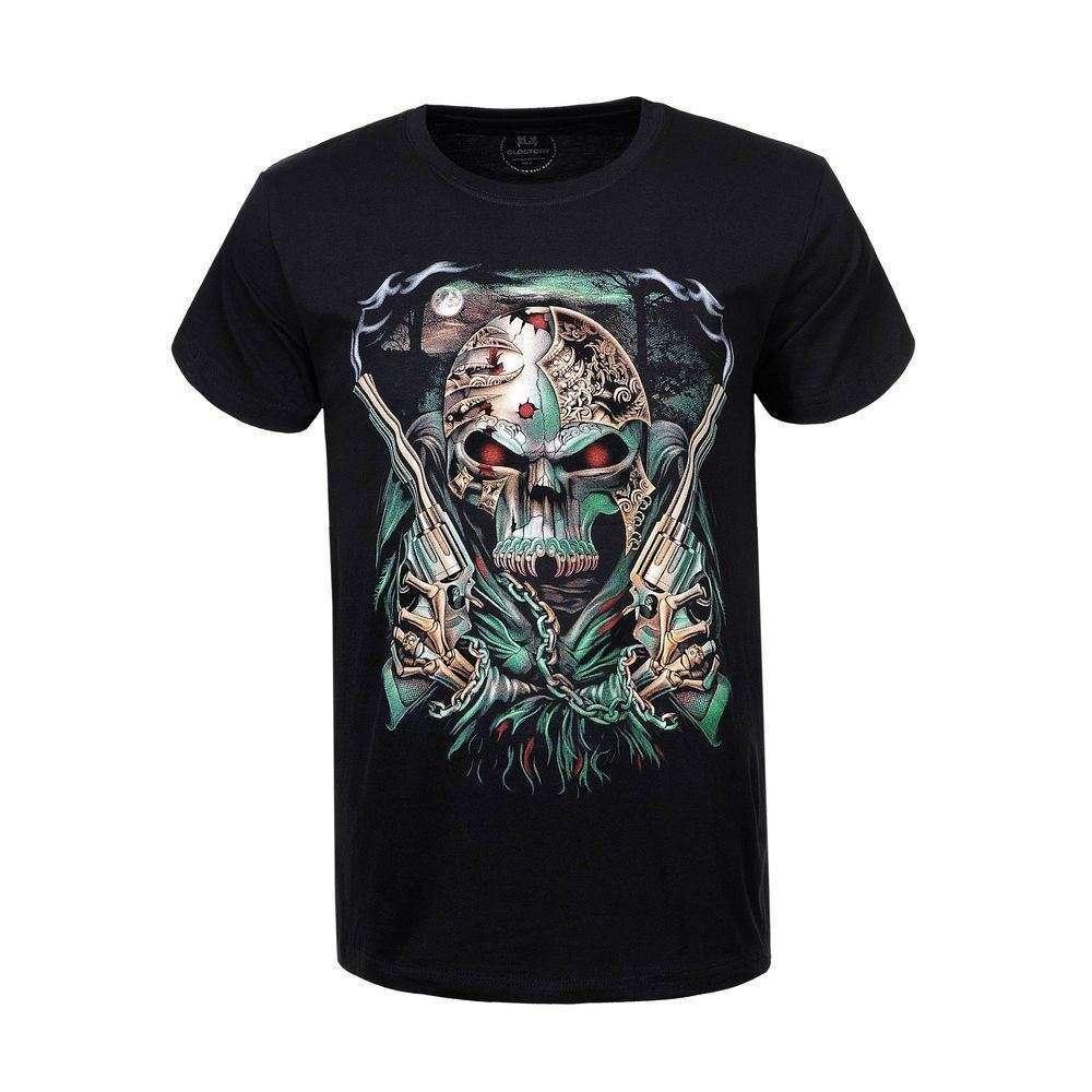 Tricou bărbătesc marca Glo Story - negru