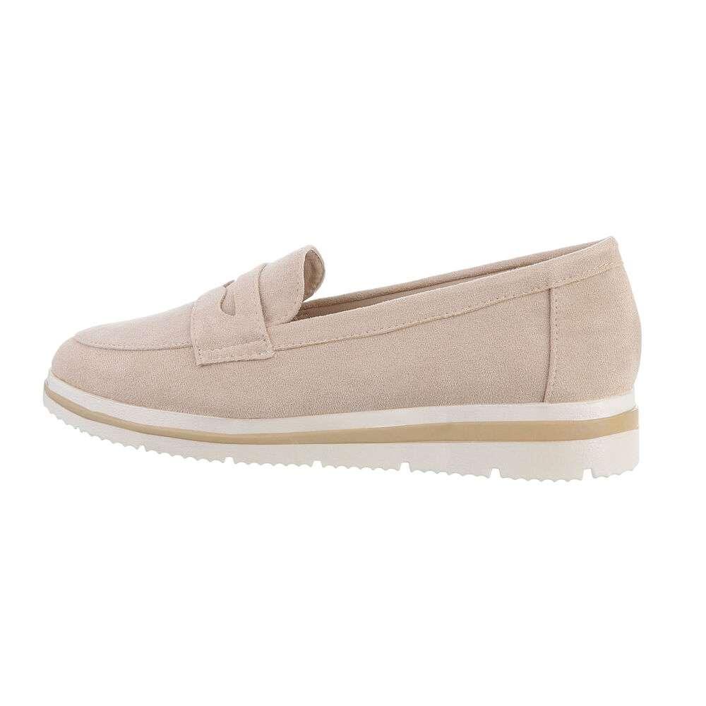 Papuci de damă - bej