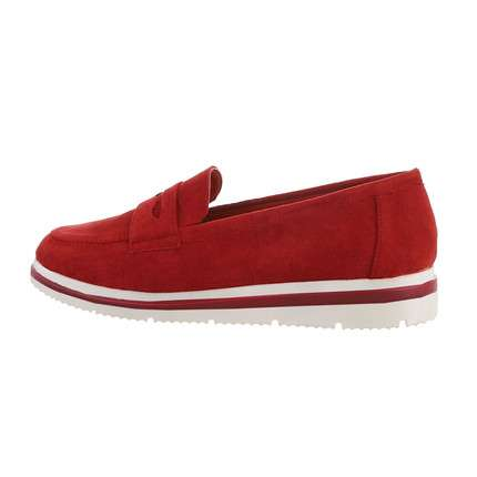Damen Slipper - red