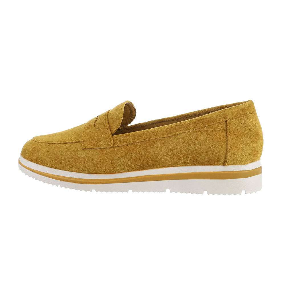 Papuci de damă - galbeni