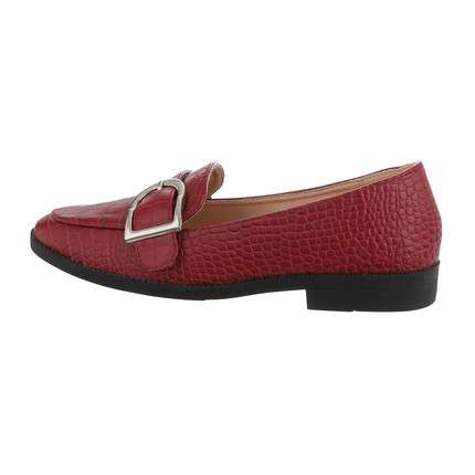 Damen Slipper - wine