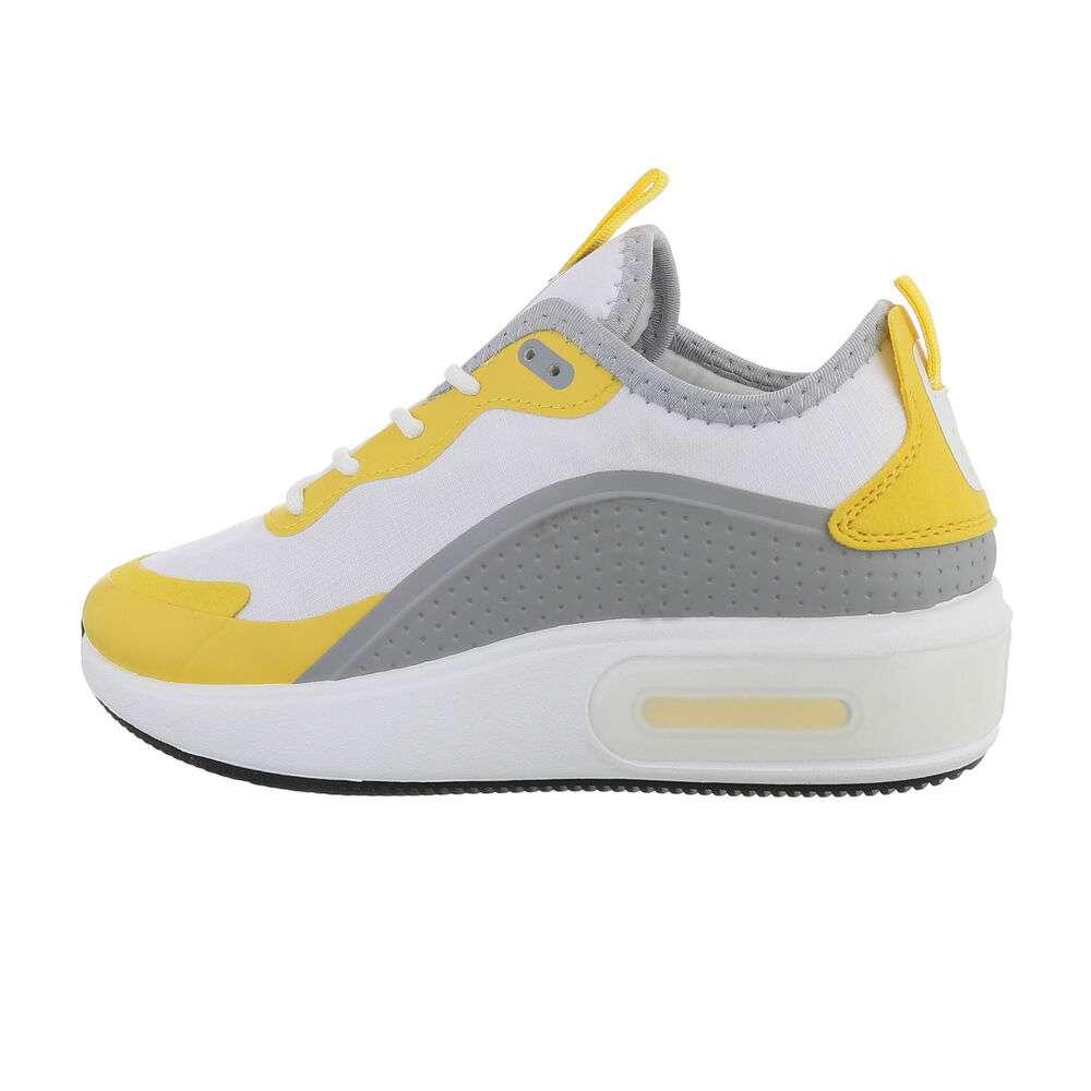 Chaussures de sport femme - lightgriishgalben