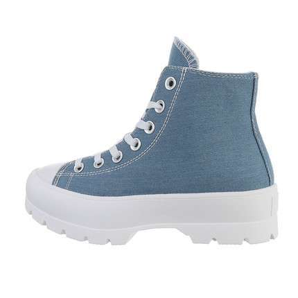 Damen High-Sneakers - cowboyblue