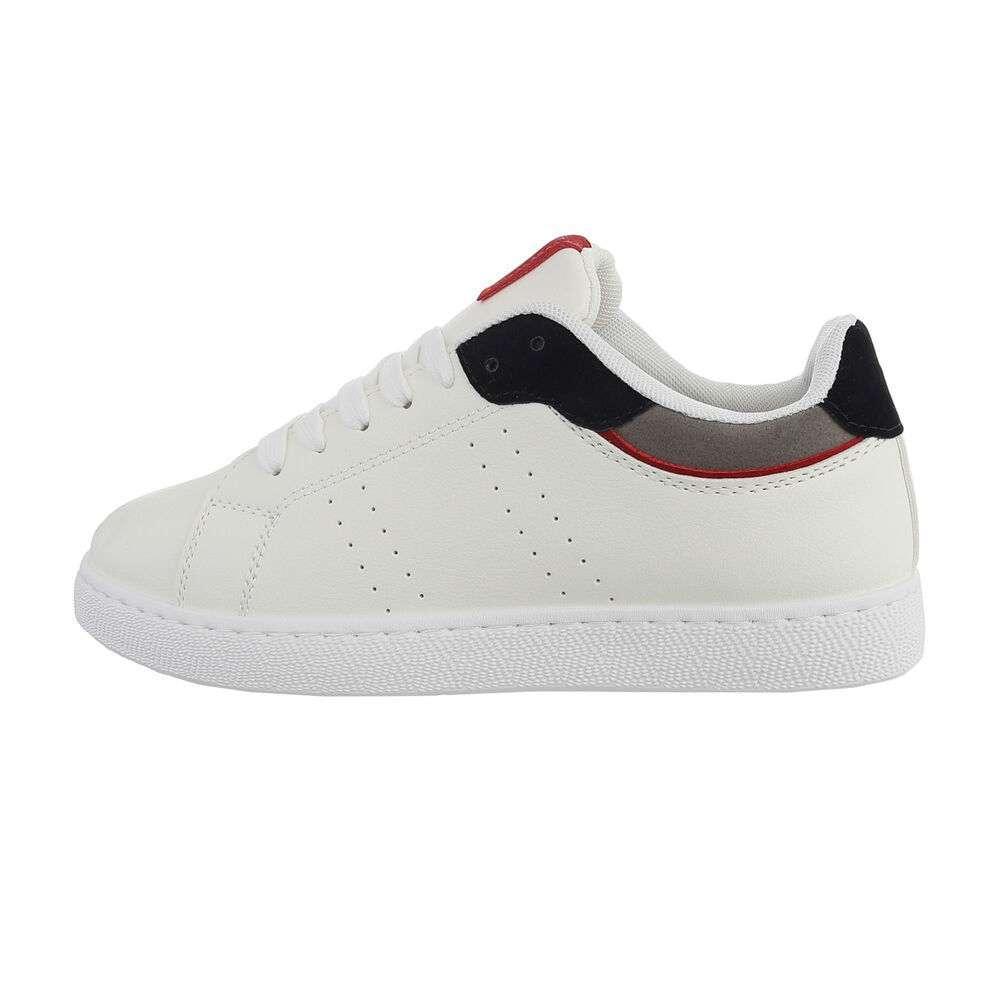Pantofi casual pentru bărbați - albi