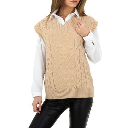 Damen Strickpullover von Shako White Icy Gr. One Size -...