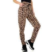 Damen Chinos von Holala Fashion - leopard
