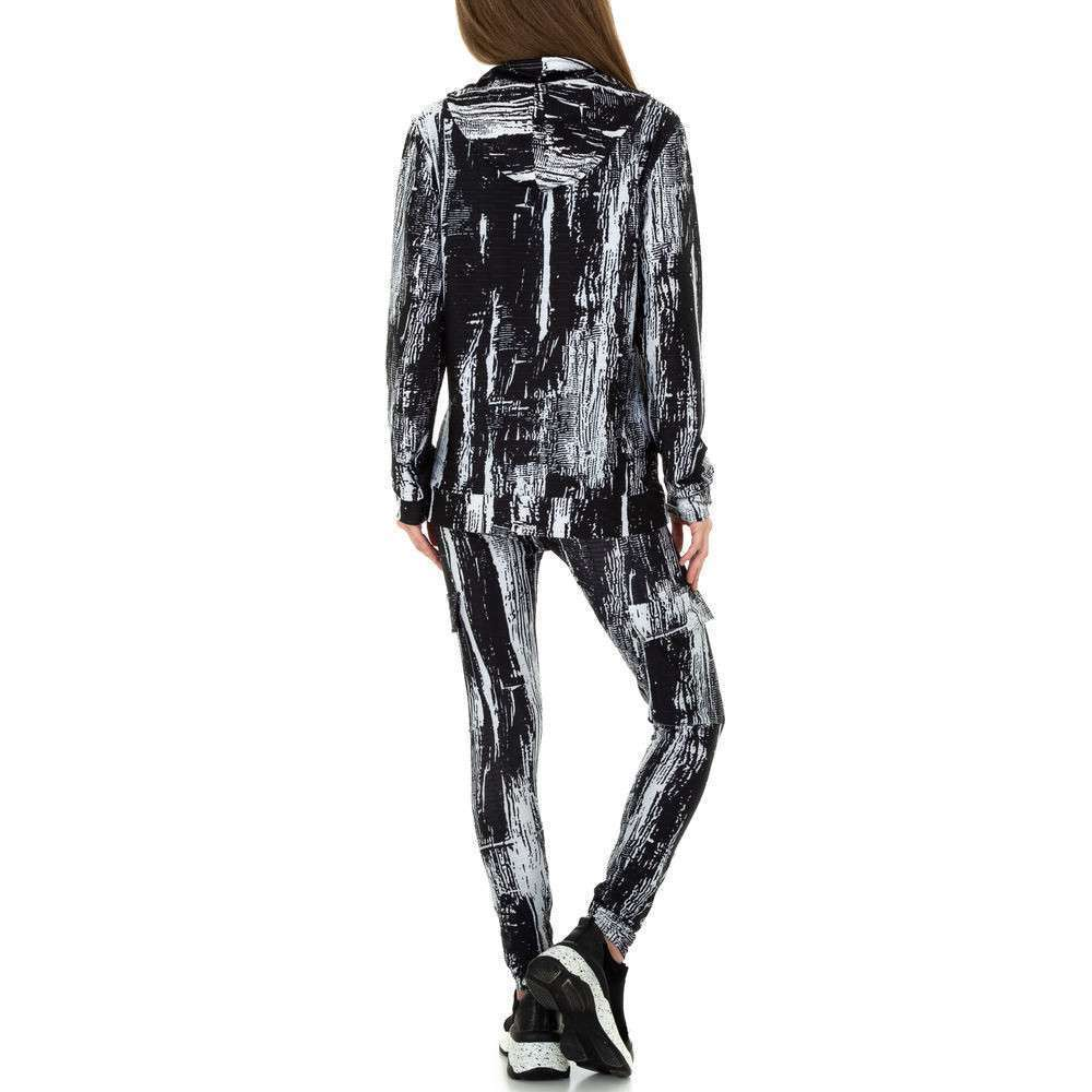 Costum de jogging și agrement pentru femei de Holala Fashion - negru - image 3
