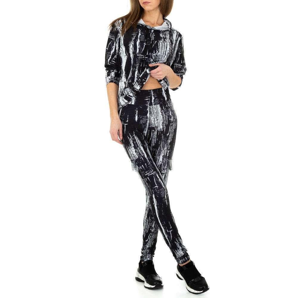 Costum de jogging și agrement pentru femei de Holala Fashion - negru - image 5