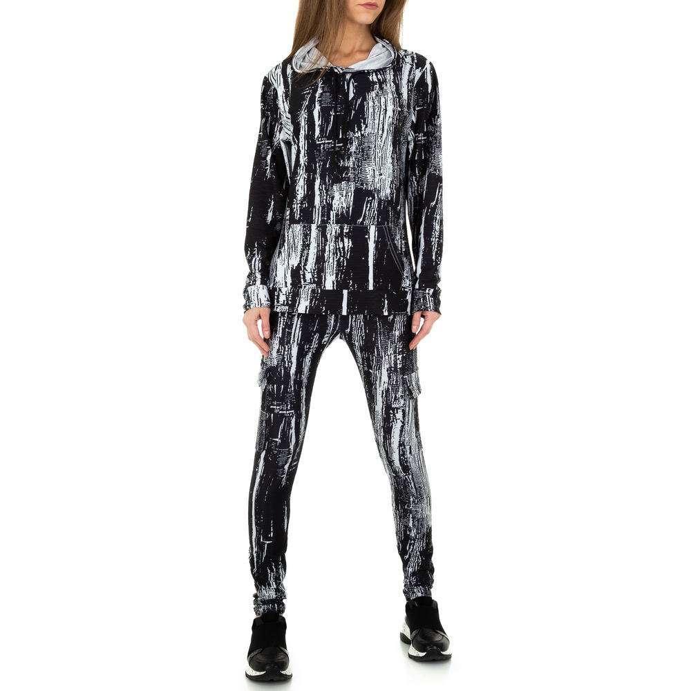 Costum de jogging și agrement pentru femei de Holala Fashion - negru - image 6