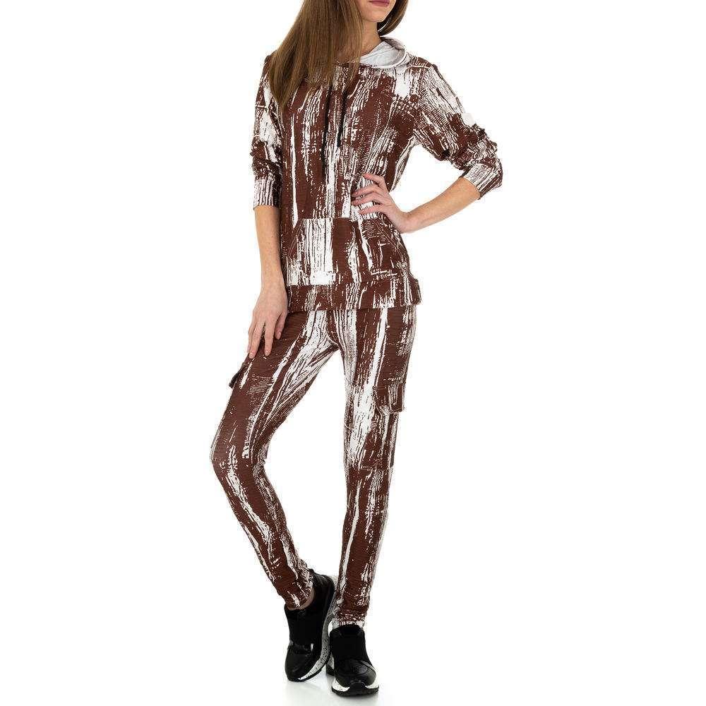 Costum de jogging și agrement pentru femei de Holala Fashion - maro