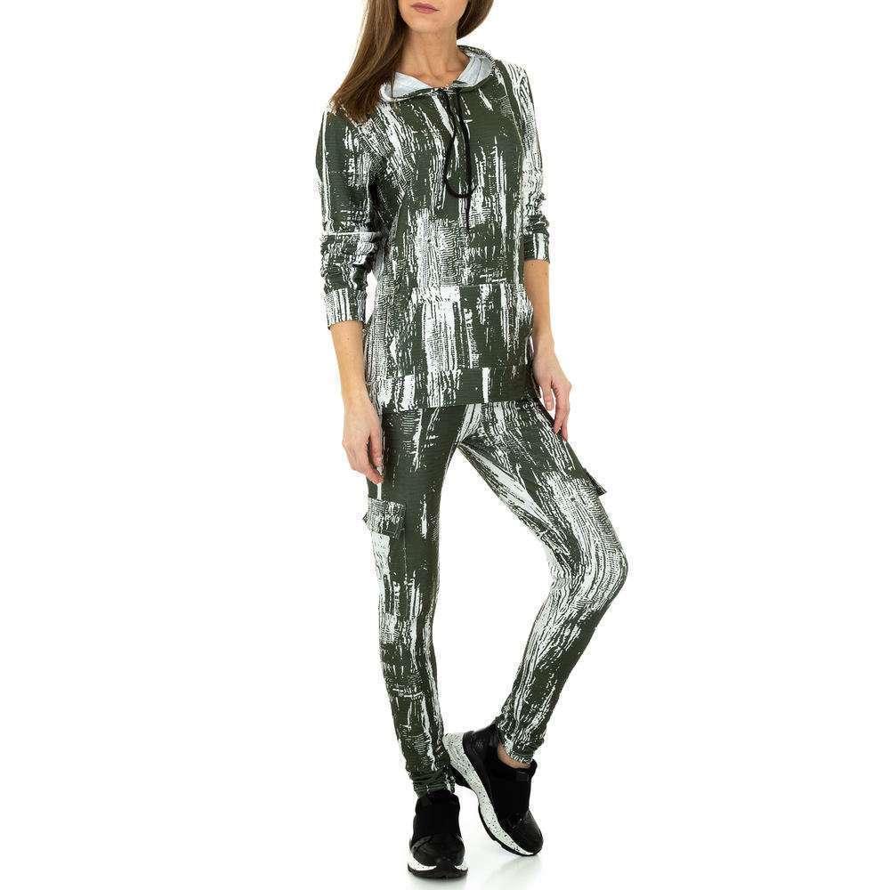 Costum de jogging și agrement pentru femei de Holala Fashion - verde