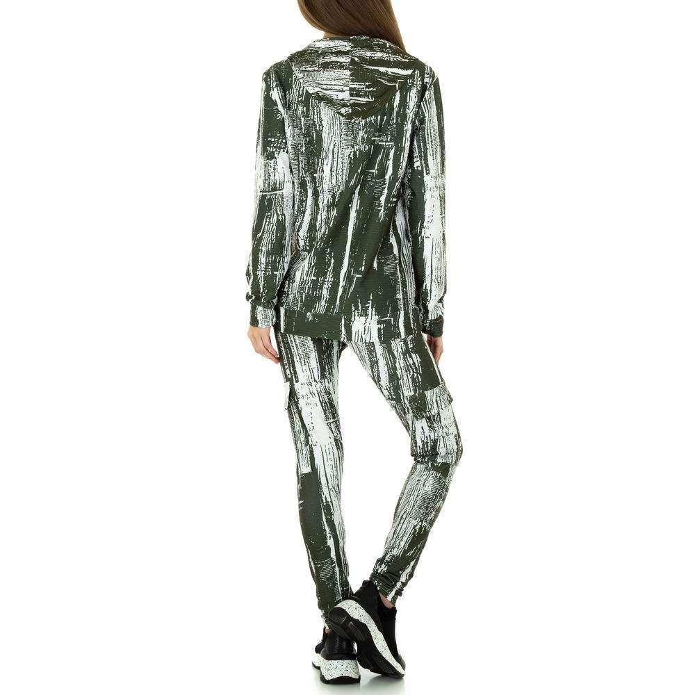 Costum de jogging și agrement pentru femei de Holala Fashion - verde - image 3