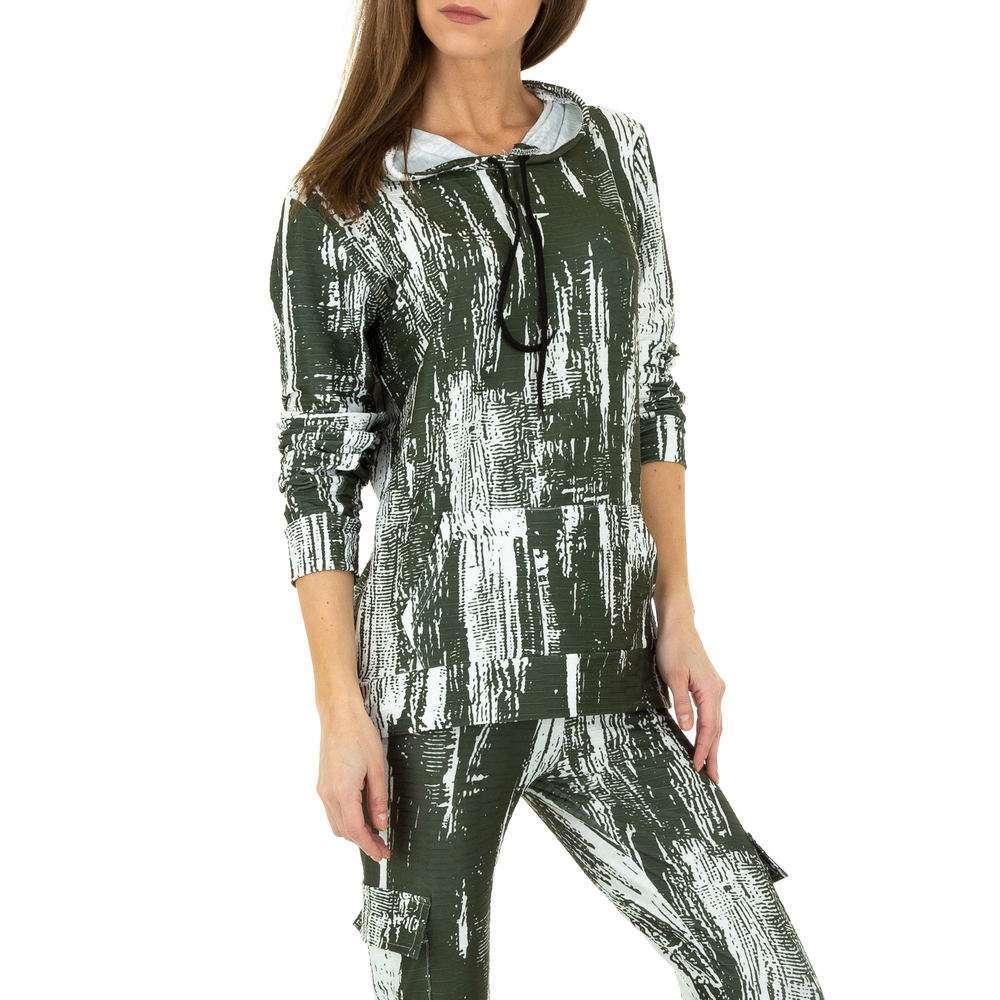 Costum de jogging și agrement pentru femei de Holala Fashion - verde - image 4