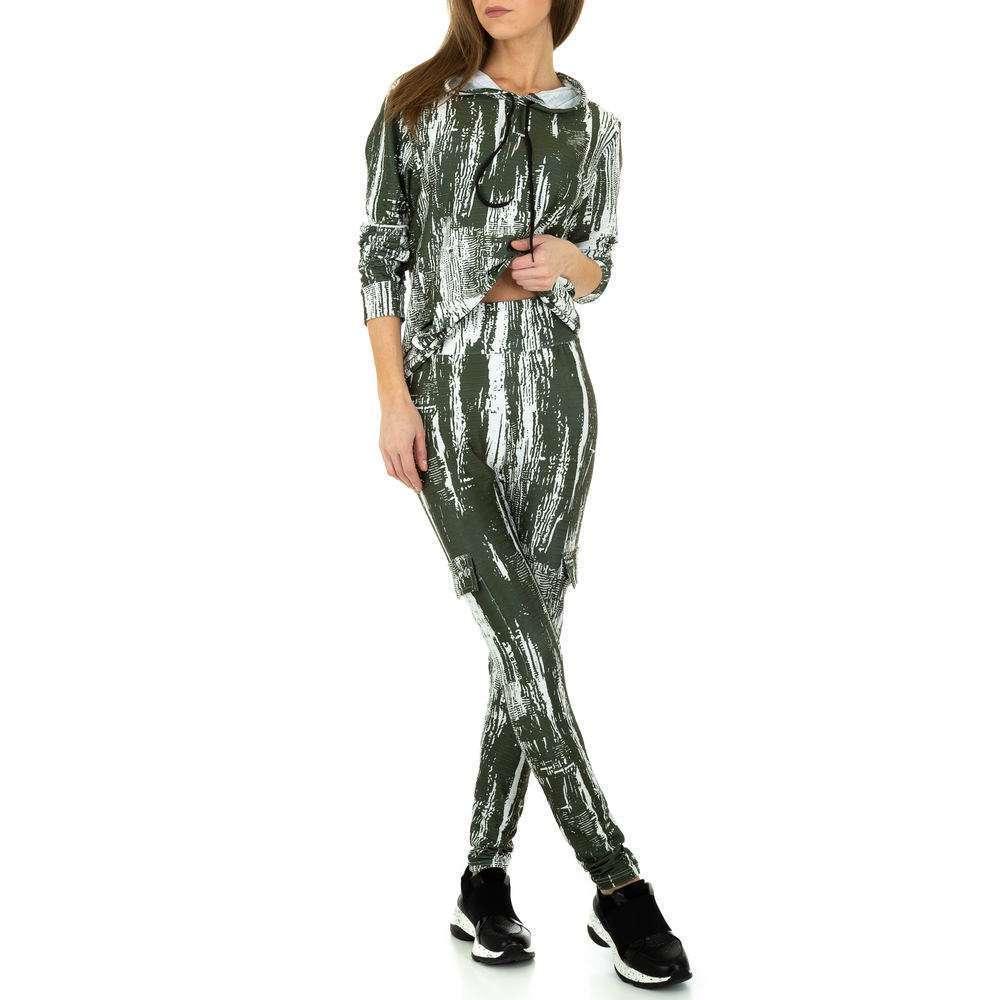 Costum de jogging și agrement pentru femei de Holala Fashion - verde - image 5