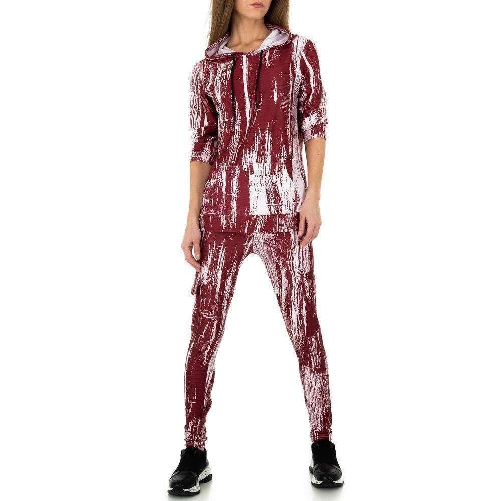 Costum de jogging și agrement pentru femei de Holala Fashion - roșu