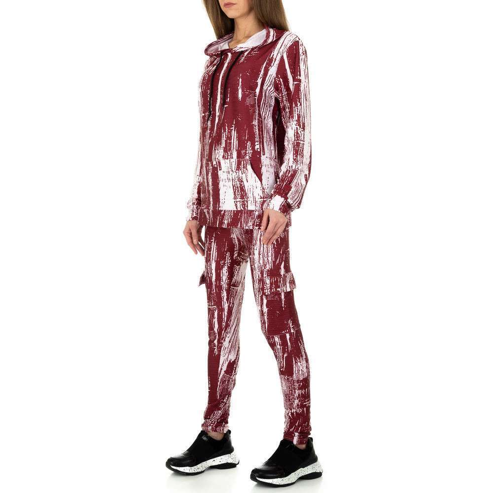 Costum de jogging și agrement pentru femei de Holala Fashion - roșu - image 2