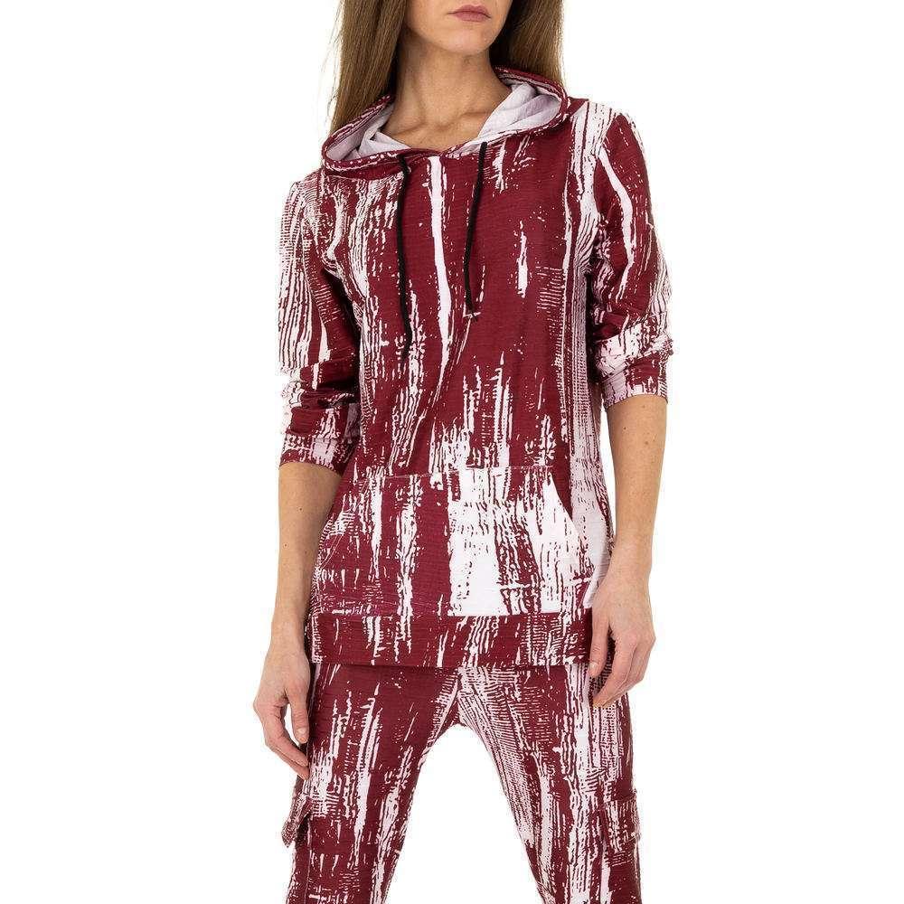 Costum de jogging și agrement pentru femei de Holala Fashion - roșu - image 4
