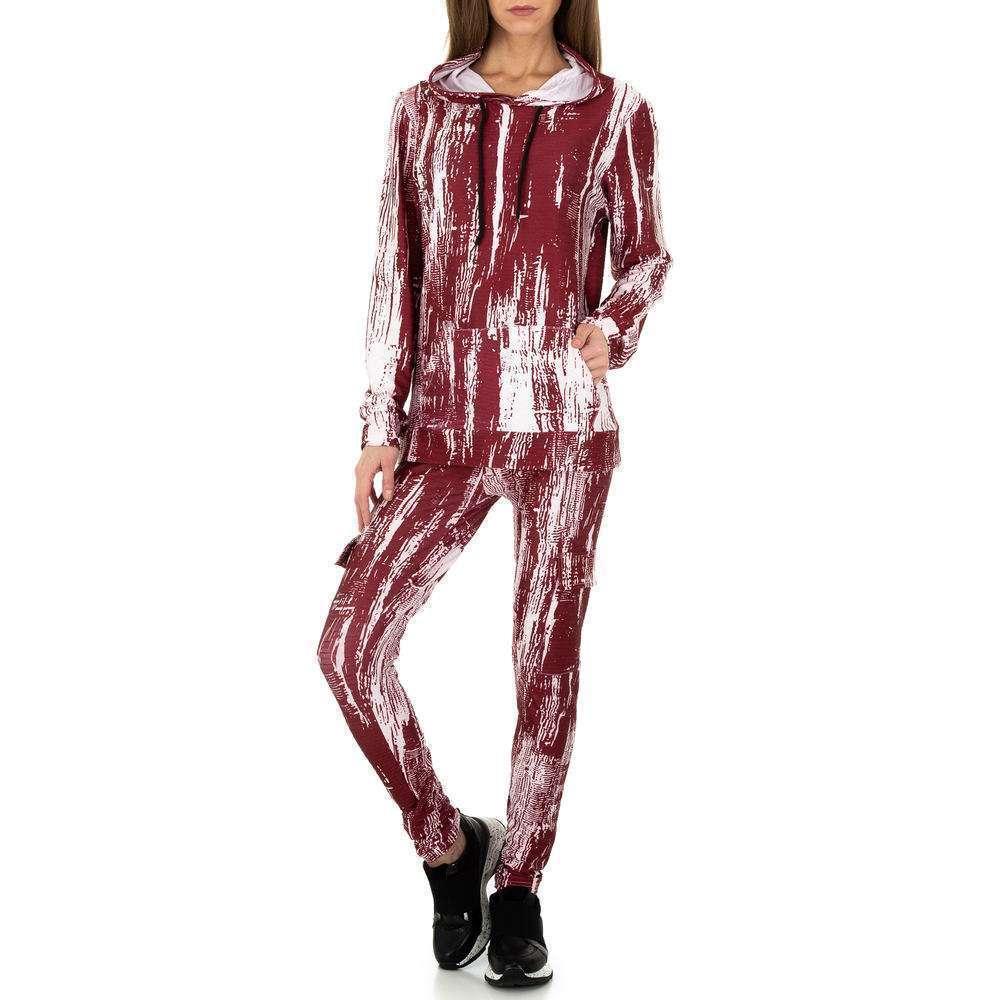 Costum de jogging și agrement pentru femei de Holala Fashion - roșu - image 6