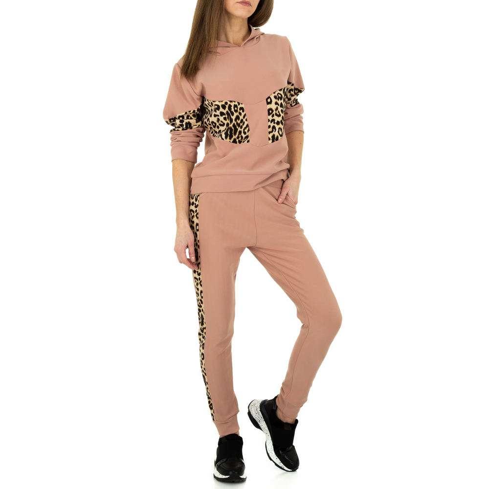 Costum de jogging și agrement pentru femei de Holala Fashion - trandafir - image 4