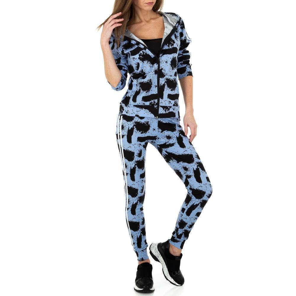 Costum de jogging și agrement pentru femei de Holala Fashion - albastru