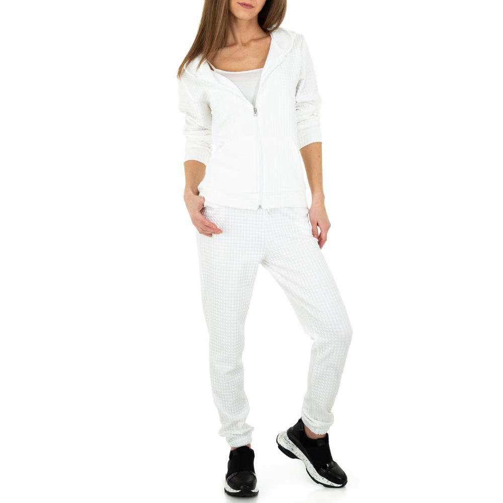 Costum de jogging și agrement pentru femei de Holala Fashion - alb