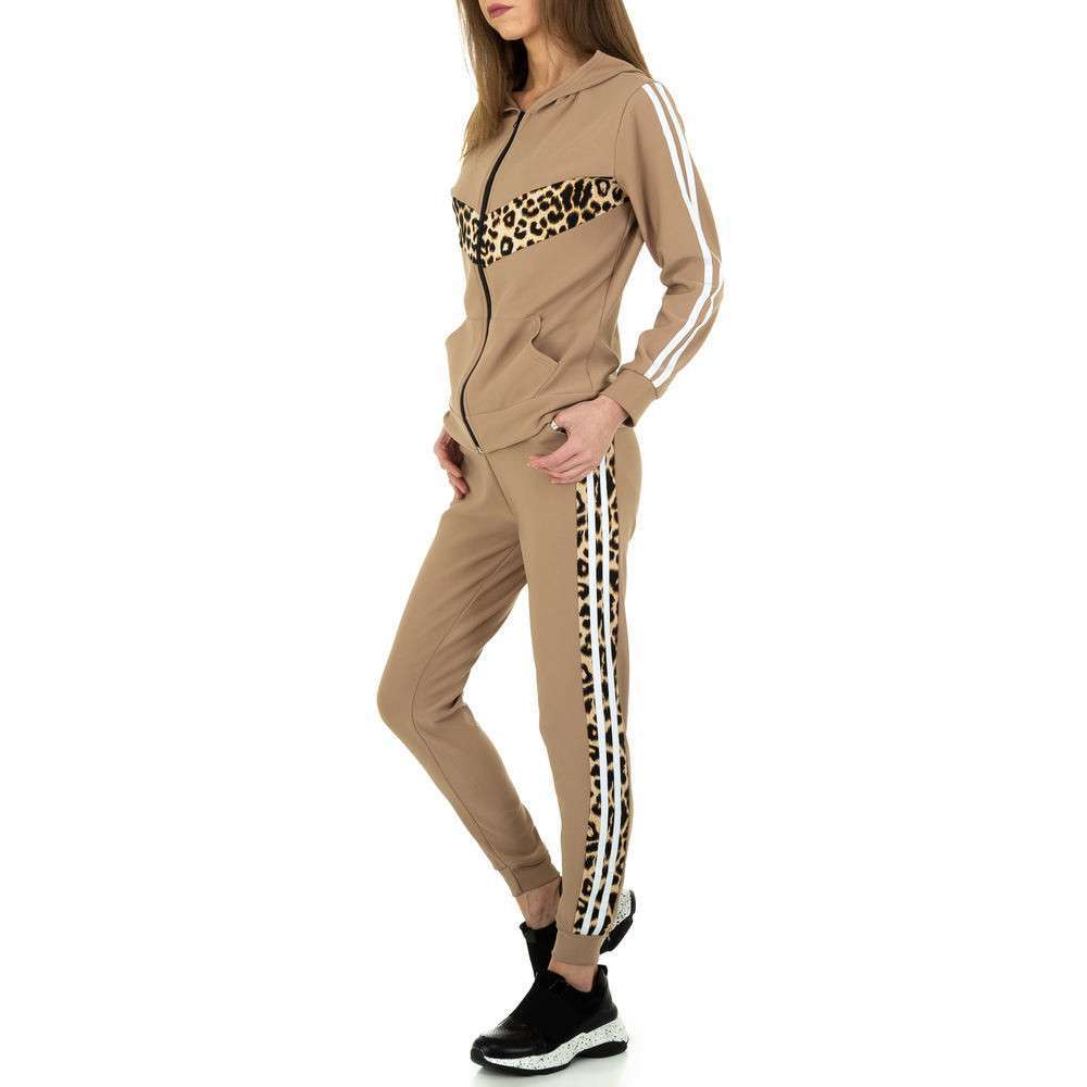 Costum de jogging și agrement pentru femei de Holala Fashion - bej - image 2