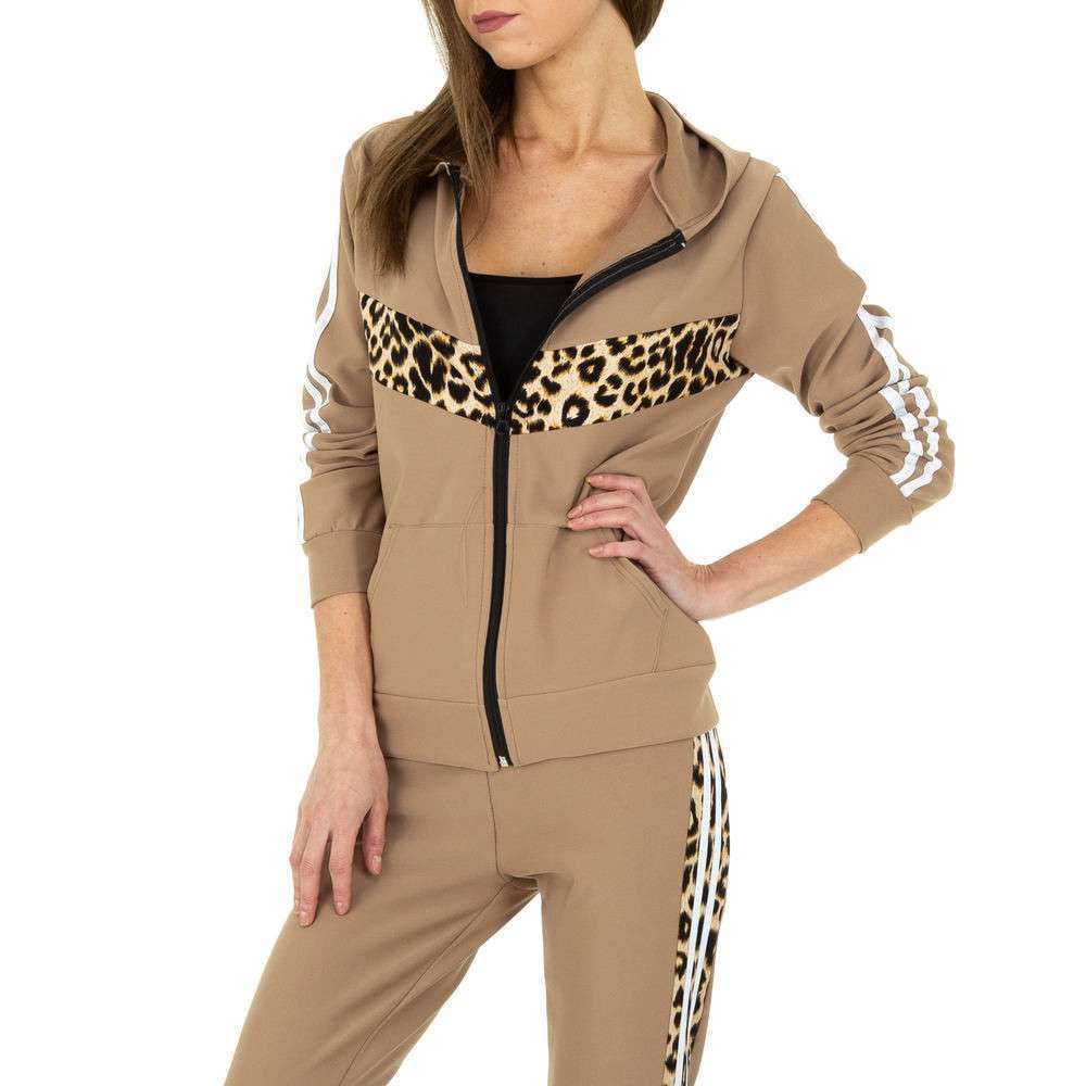 Costum de jogging și agrement pentru femei de Holala Fashion - bej - image 4