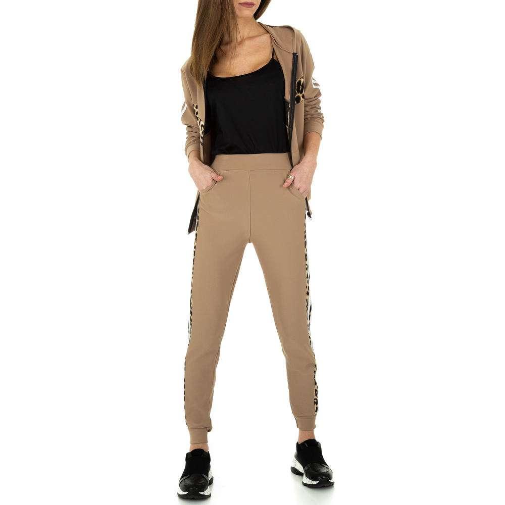 Costum de jogging și agrement pentru femei de Holala Fashion - bej - image 5