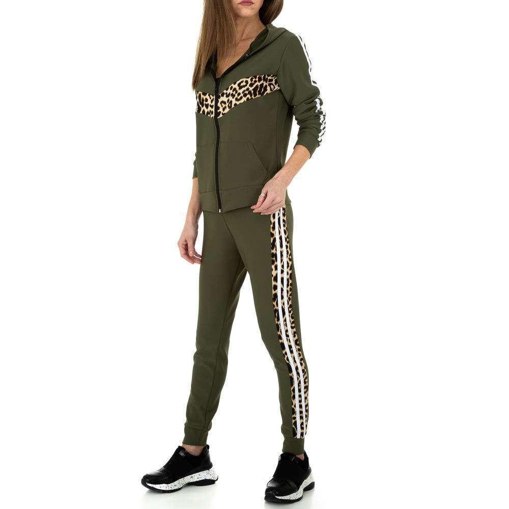 Costum de jogging și agrement pentru femei de Holala Fashion - kaki