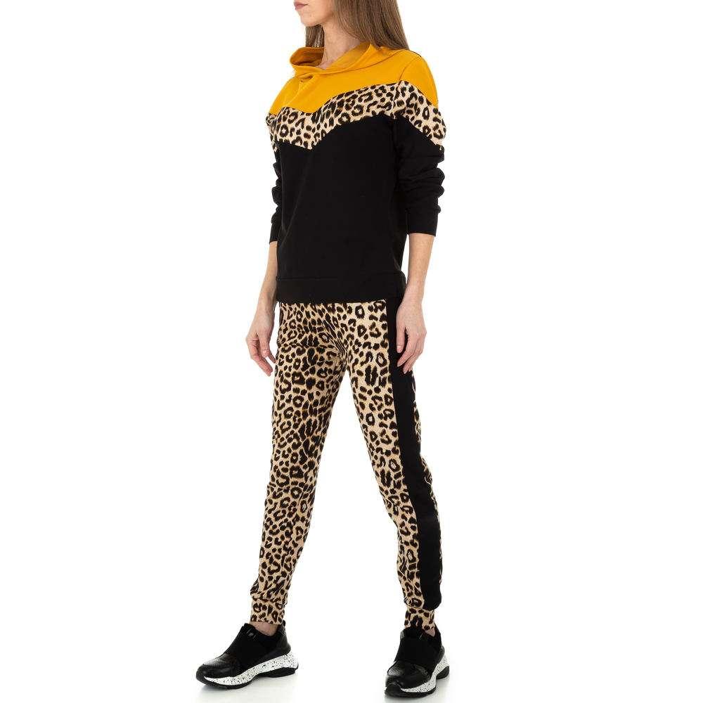 Costum de jogging și agrement pentru femei de Holala Fashion - galben