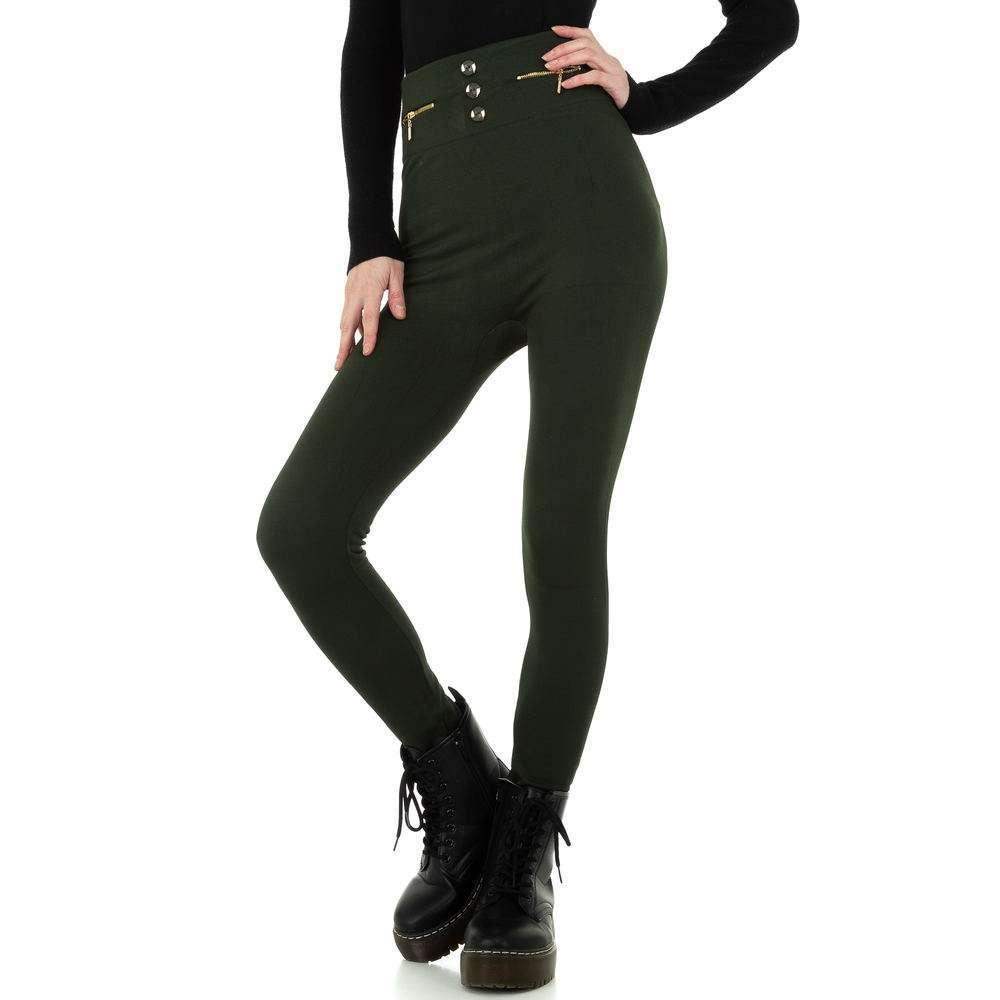Jambiere termice pentru femei de Holala Fashion Gr. O singură mărime - închis verde