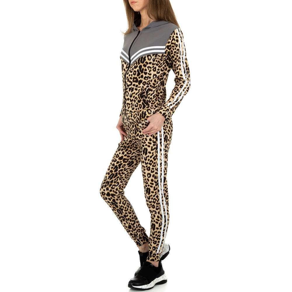 Costum de jogging și agrement pentru femei de Holala Fashion - gri - image 2