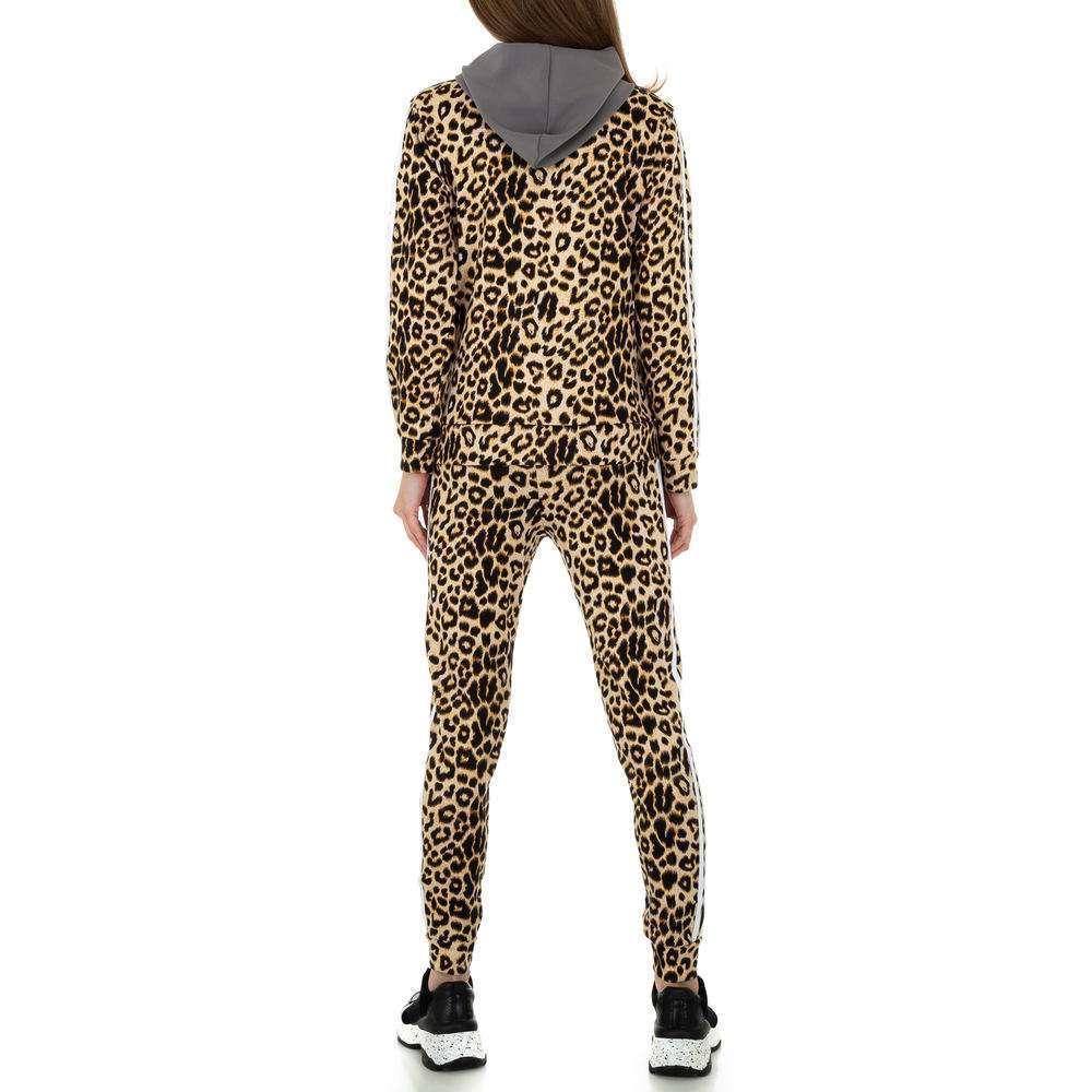Costum de jogging și agrement pentru femei de Holala Fashion - gri - image 3