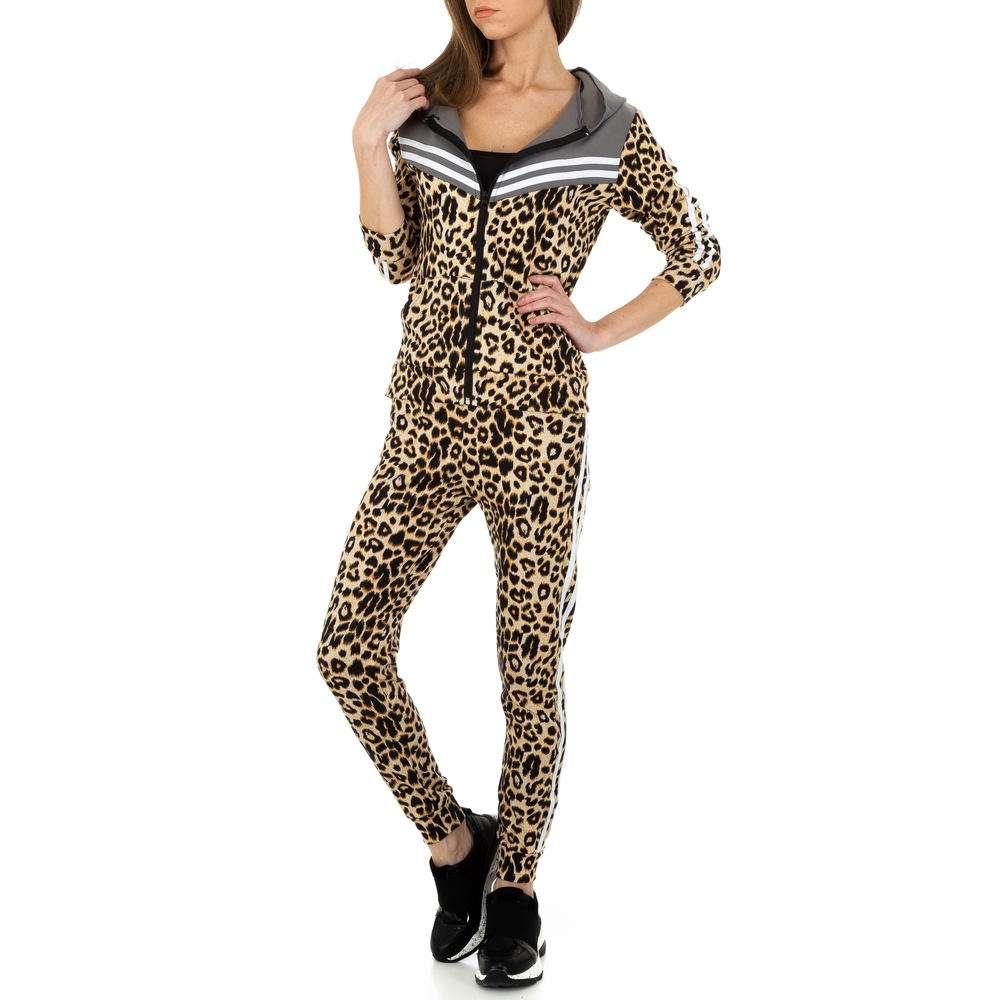 Costum de jogging și agrement pentru femei de Holala Fashion - gri - image 4