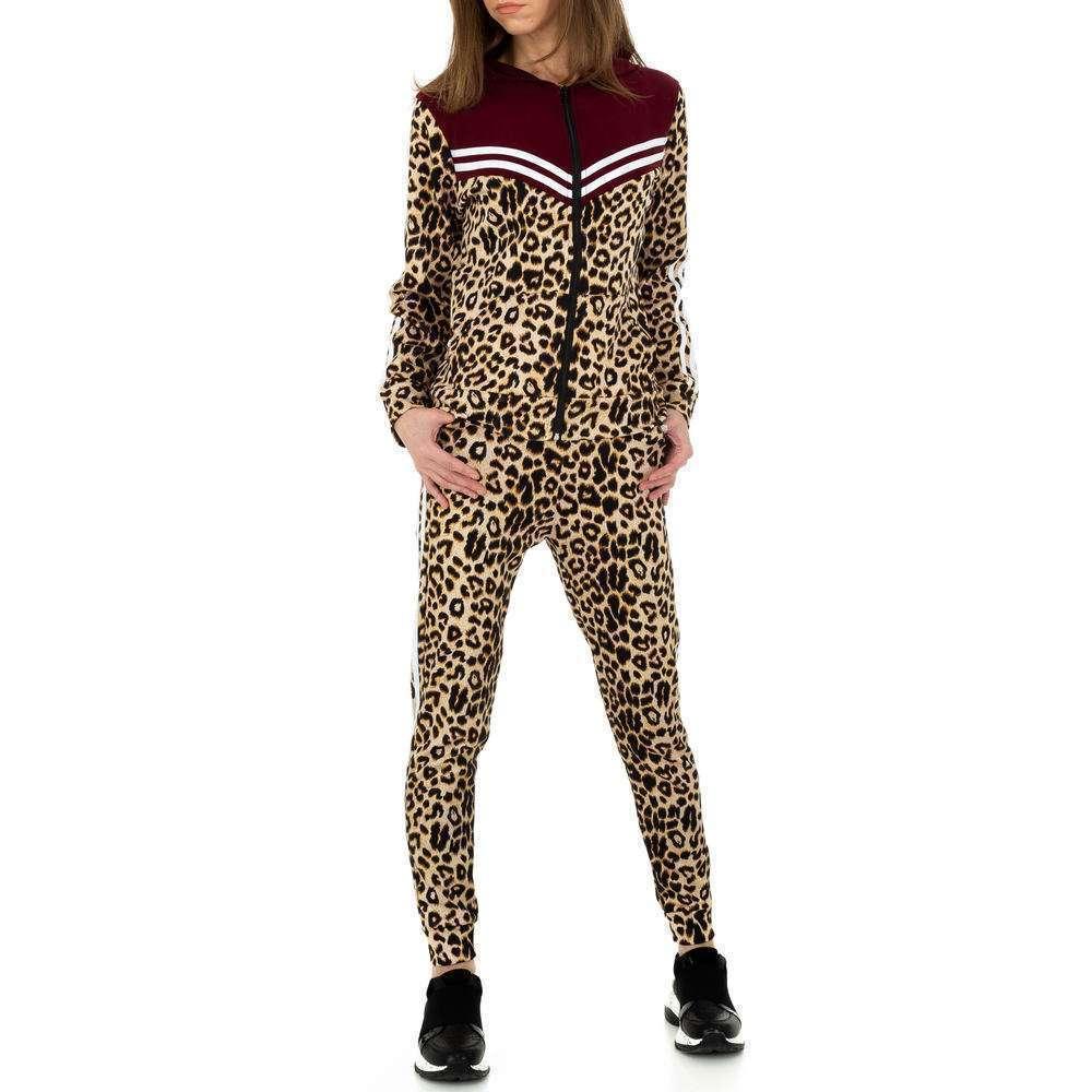 Costum de jogging și agrement pentru femei de Holala Fashion - vin
