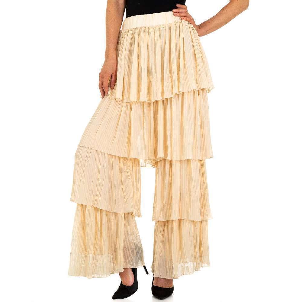 Pantaloni de damă marca JCL - bej