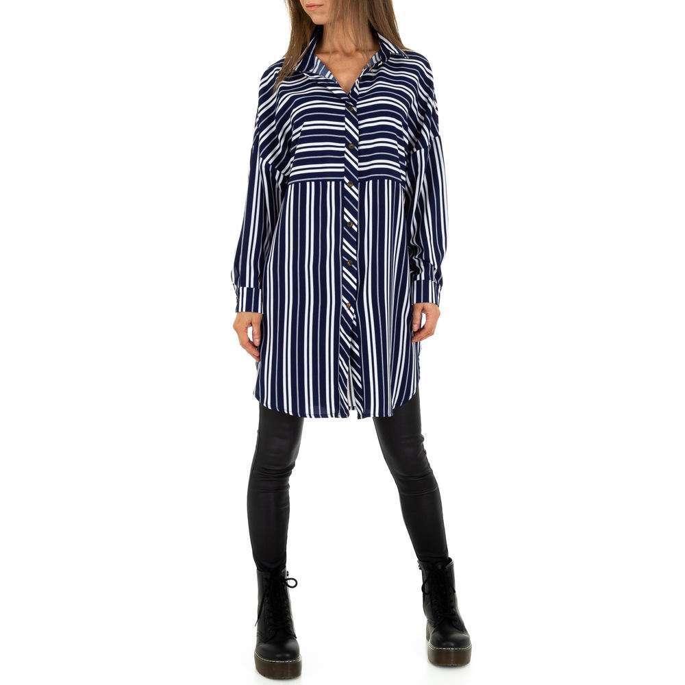 Bluză lungă pentru femei de JCL - DK.blue