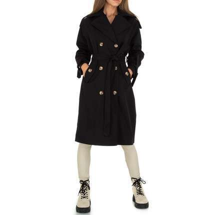 Damen Trenchcoat von JCL - black
