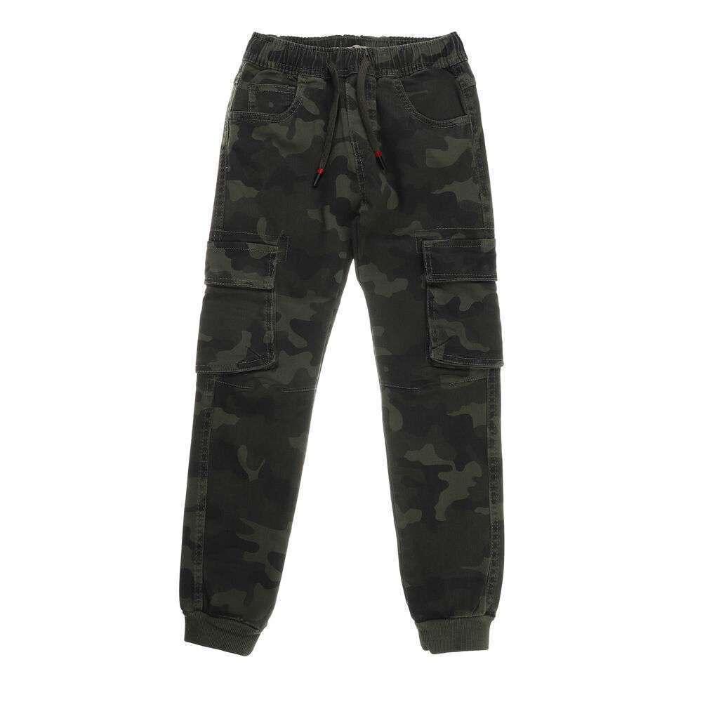 Pantaloni pentru băieți de la Egret - verde verde