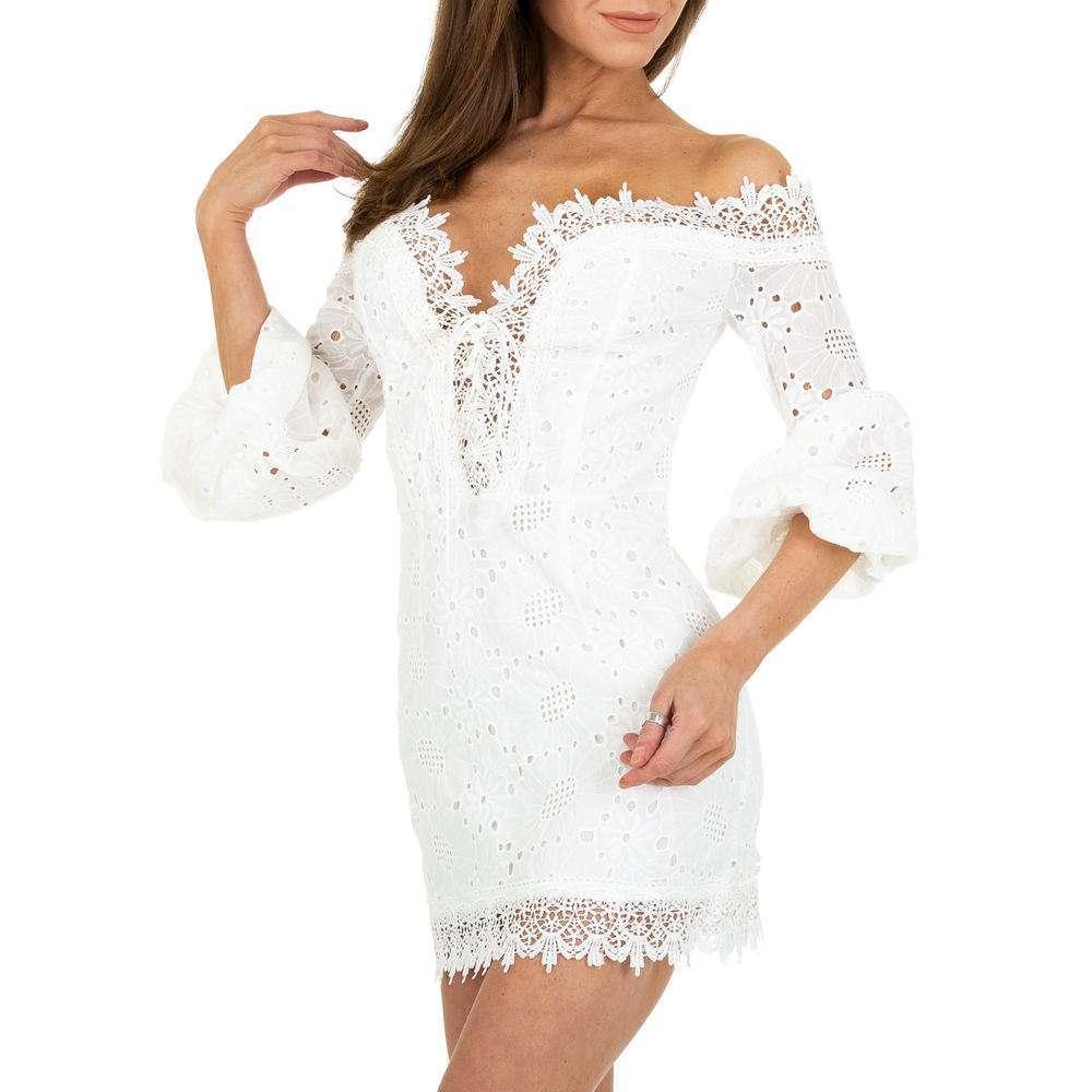 Mini rochie de damă JCL - albă